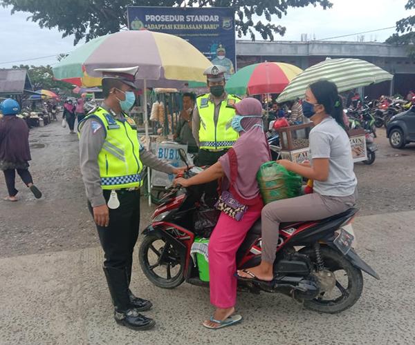 Polres Sorong Ciptakan Situasi Lalu lintas Aman dan Lancar