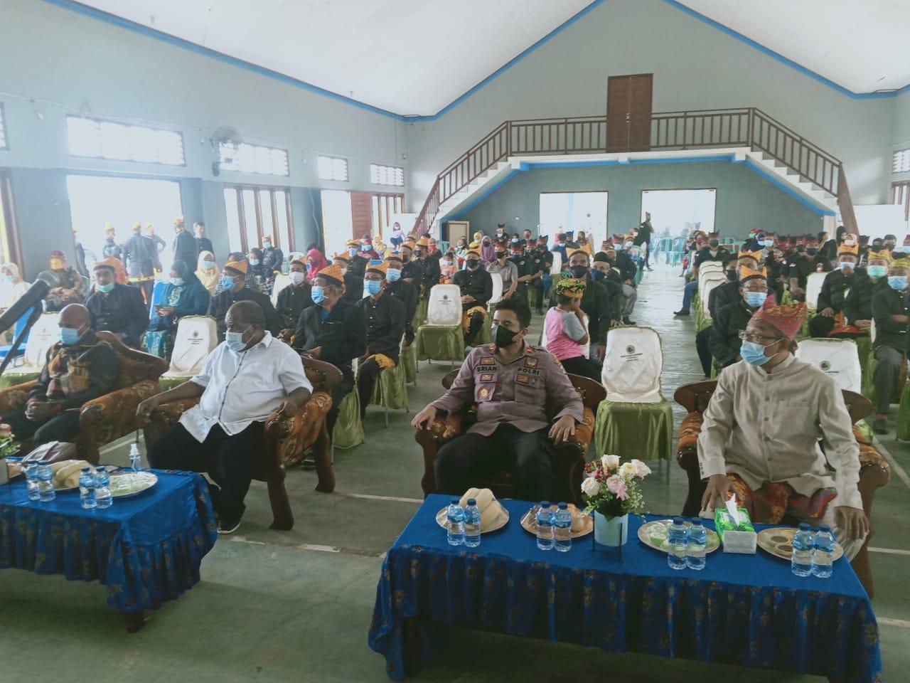 Kapolsek Salawati Hadiri Pengukuhan Pengurus Ikatan keluarga Banyuwangi (Ikawangi) Kab. Sorong