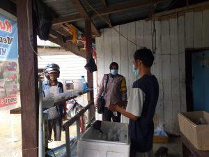 Bhabinkamtibmas Kelurahan Malawili Berikan Pesan Kamtibmas Pada Warga Binaan, Melalui Giat DDS