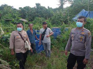 Kapolsek Moraid Bersama Anggota Laksanakan Patroli Dan Pantau Kampung Berdikari (Munu Yabanonti)