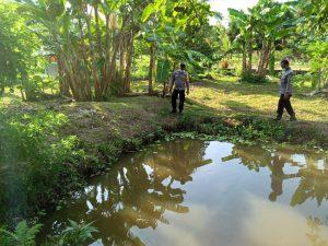 Bhabinkamtibmas Polsek Sausapor melakukan sambang ke Kampung tangguh di kampung emaus