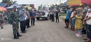Upaya Menyadarkan Masyarakat, Himbauan Prokes Dilakukan Gabungan TNI-Polri Dan Satpol PP