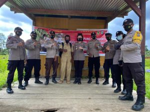 Lawan Covid-19, Polsek Jajaran Polres Sorong Bentuk Masing-masing 2 Kampung Yabanonti Kampung Tangguh Inspirasi