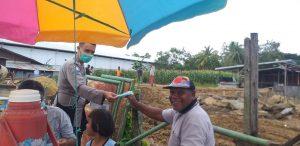 Sat Binmas Lalukan Sambang Dan Berikan Himbauan Kamtibmas Kepada Masyarakat