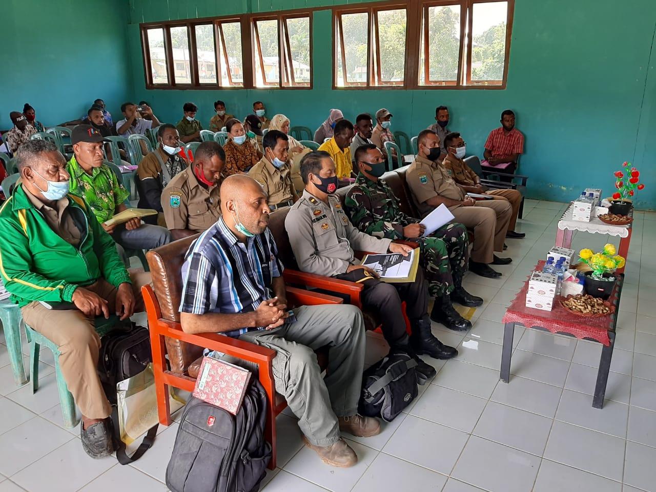Kapolsek Salawati Yang Di Wakili Oleh Waka Polsek Hadiri Undangan Sosialisasi Pedoman Pelaksanaan Prospek Otsos Tahun 2021