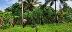 Bhabinkamtibmas Polsek Sausapor Polres Sorong Sambangi Kampung Tangguh Nusantara (KTN)