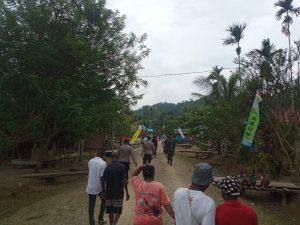 Berikan Rasa Aman, Polsek Moraid Laksanakan Pengamanan Raker III bakal klasis Abun di kampung Metnayam distrik Yembun.