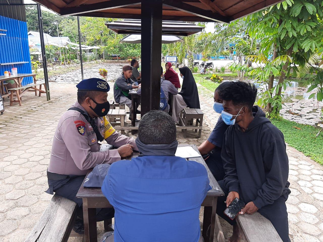 Bhabinkamtibmas Kelurahan Malason Kunjungan Ke Warga Binaan