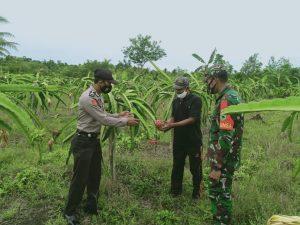Kapolsek Salawati Bersama Tripika Distrik Mengunjungi  Kampung Yabanonti di Kampung Rawasugi dan Kampung Walal