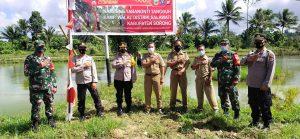 Waka Polres Sorong Resmikan Kampung Tangguh Yabanonti di Kampung Rawasugih dan Kampung Walal