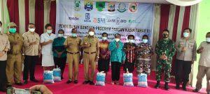 Kapolres Sorong Diwakili Kapolsek Sausapor mendampingi  Gubernur Papua Barat Dalam Rangka Kunjungan Di Distrik Sausapor