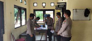 Polsek Sausapor Terima Kunjungan Tim Supervisi Propam Polres Sorong