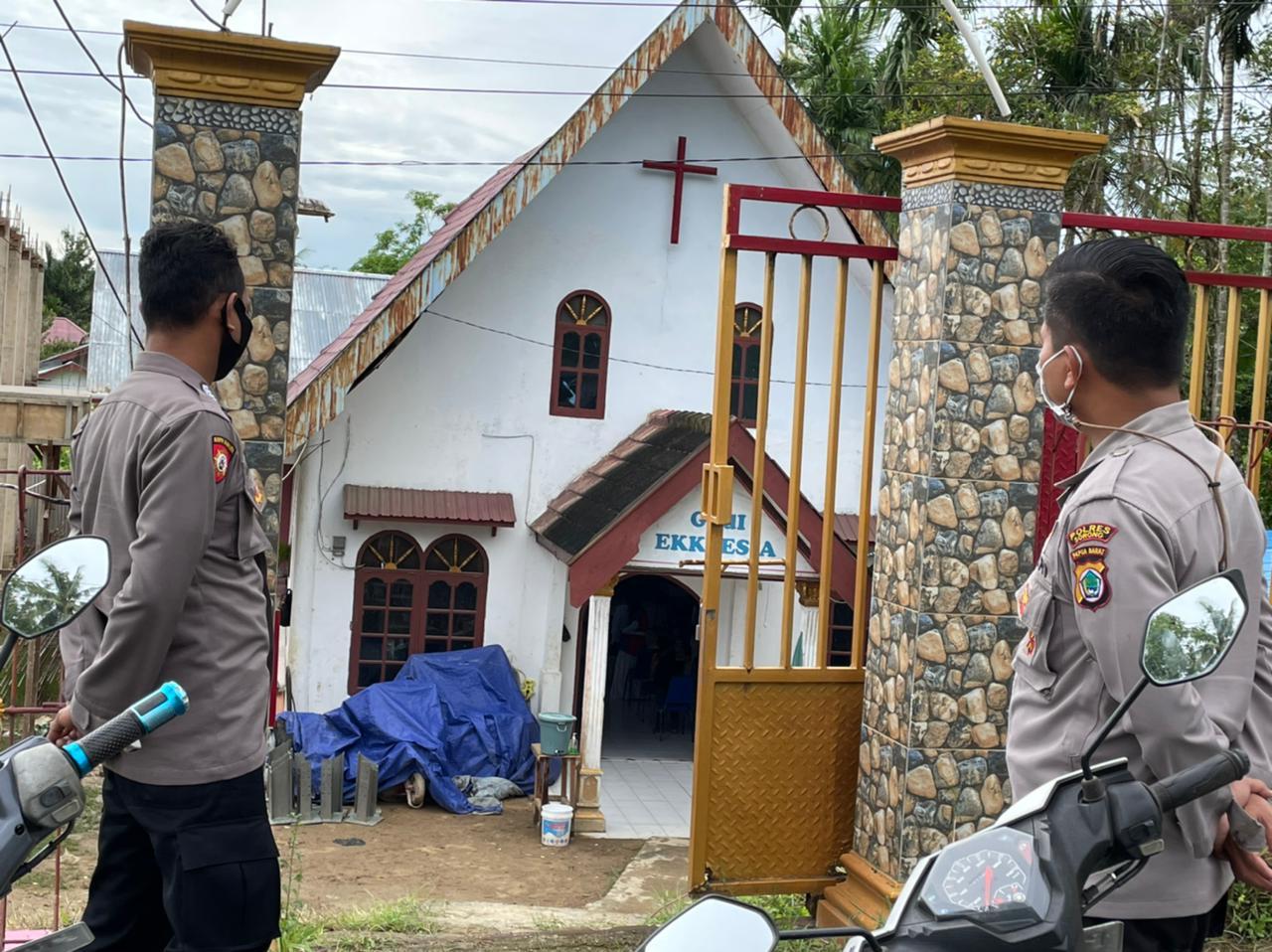 Mendukung Program Periotas 100 Hari, Polres Sorong Melakukan Pam Tifa