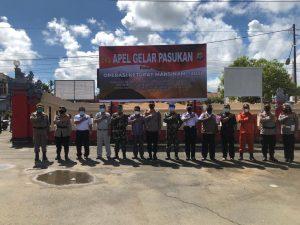 Polres Sorong Gelar Apel  Pasukan Ops Ketupat Mansinam – 2021