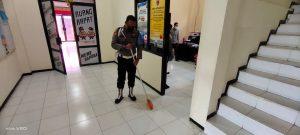 Usai Apel Pagi, Polres Sorong Laksanakan Kurvei masing-masing Ruangan