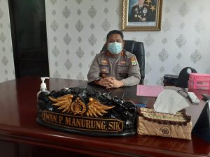 Kapolres Sorong Menerima Kunjungan Silaturahim DPW IWO Papua Barat