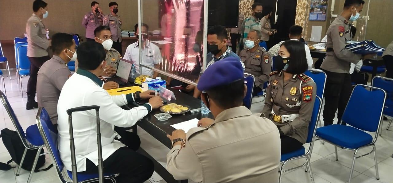 Tim Irwasum Mabes Polri Kunjungi Polres Sorong