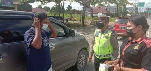 Personil Polres Sorong Melaksanakan Operasi Kegiatan Rutin Yang Ditingkatkan (KRYD)