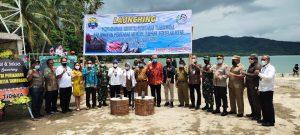 Kapolres Sorong Hadiri Kegiatan Kunker Direktur Jendral Daya Saing Produk Kelautan Kementrian Kelautan dan Perikanan RI