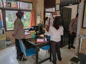 Kunjungan  dari Tim peninjau  Dinas kesehatan  Pemda kabupaten sorong