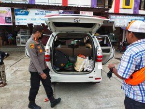 Bersinergi Dengan TNI Polsek Beraur Gelar Razia Gabungan Cegah Gangguan Kamtibmas