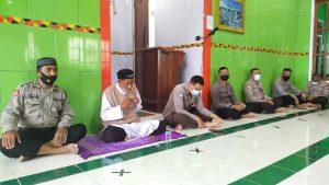 Tingkatkan Iman Personil, Polres Sorong Laksanakan Binrohtal & Doa Bersama Dengan Mentaati Protokol Kesehatan