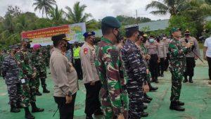 Polres Sorong Ikuti Apel Gladi Pengamanan Kunjungan Presiden RI Ke Sorong