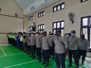 Jelang Pengamanan Presiden RI Dan Rombongan, Polres Sorong Cek Kesiapan Personil