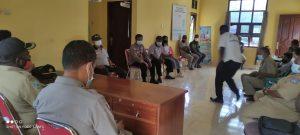 Lakukan Pembinaan dan Pengawasan Fungsi FKPM, Sat. Binmas Gelar Pertemuan Dengan Masyarakat