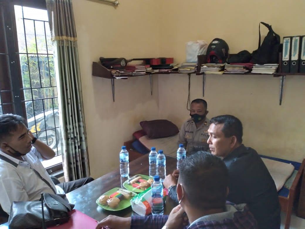 Sat Tahti Polres Sorong Terima Kunjungan Supervisi Dit Tahti Polda Papua Barat