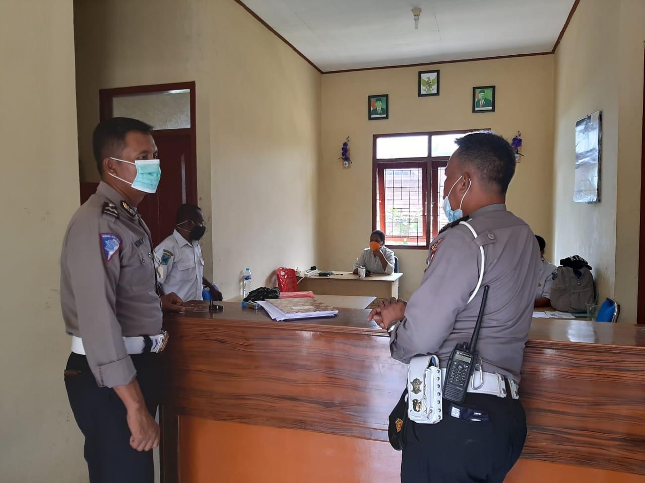 Unit Dikyasa Satlantas Polres Sorong Berencana Bentuk Kampung Tertib Lalu Lintas / Kampung Polantas
