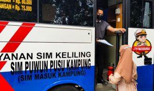 Permudah Masyarakat, Satlantas Polres Sorong Maksimalkan Pelayanan SIM Keliling Kampung (Sim Puwun Pusu Kampung)