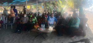 Kapolsek Moraid Turut Serta Sosialisasi Literasi Rumah Baca Di Kampung Dela
