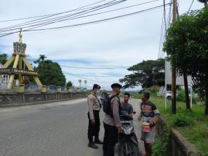 Cegah 3C Dan Curanmor Di Hari Minggu, Piket Patmor Laksanakan Patroli Kamtibmas Ke Titik2 Rawan