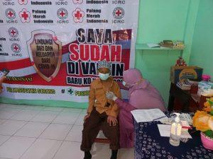 """Polsek Aimas Melakukan Pengamanan Vaksinasi di Pesantren Tahfidzul Qur""""an Al ikhtiar"""